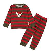 coloing Baby Kids & Toddler Girls Pajamas 2 Piece Pjs Set Sleepwear Christmas(Multicoloured2 110cm(3-4 Years))