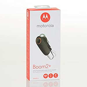 Motorola Boom 2+ Water Resistant & Durable Wireless Headset (MH003A)