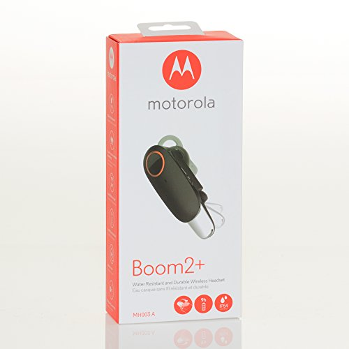 Motorola Boom 2+ Water Resistant & Durable Wireless Headset (MH003A) by Motorola Mobile Accessories (Image #7)