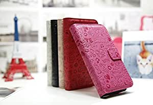 ModernGut For Huawei Ascend G330 U8825d Fashion Cute Magic Girl FLIP PU Leather case cover with credit card slot