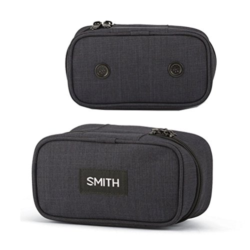 2015 SMITH OPTICS GOGGLE CASE, BLACK, AUTHENTIC SMITH (Optic Case)