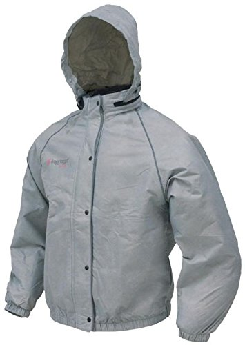 Frogg Toggs Womens Sweet T Jacket, Steel Gray w/ Reflective Silver, XL FT63532-07XL