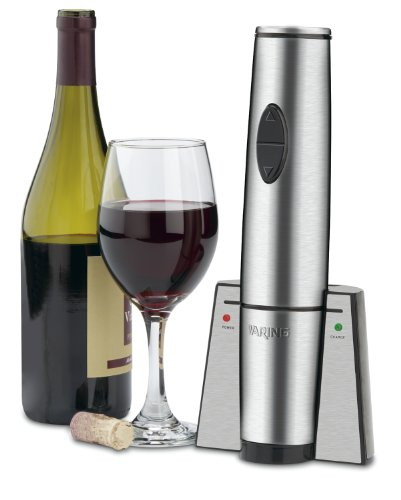 Waring Commercial WWO120 Portable Electric Wine Bottle Opener with Recharging Station by Waring (Image #4)