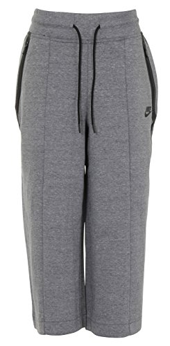 Nike Sportswear Tech Fleece Grey Womens Capris / 3/4 Pants Size S