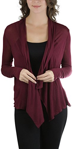 ToBeInStyle Womens Sleeve Shawl Cardigan