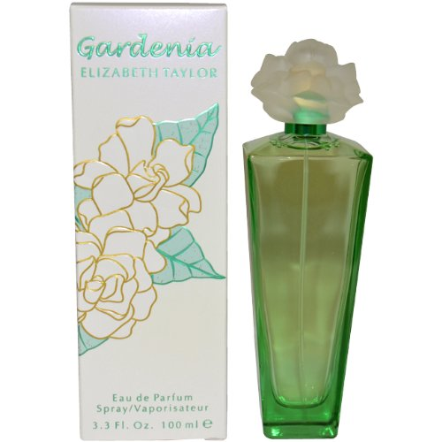 Gardenia by Elizabeth Taylor | Eau de Parfum Spray | Fragrance for Women | Floral, Green, and Musky Scent | 100 mL / 3.3 fl oz