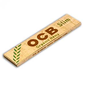 Ocb Organic Hemp Slim Rolling Papers 10 Booklets by B.O.C.