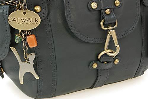 Vert Karlie Collection Catwalk Main Signé À Cuir Sac En 1wBn4W8q