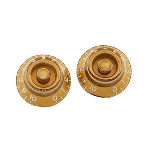 Allparts PK-0140-032 Gold Bell Knobs (Gold Bell Knobs)