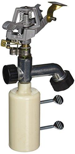 Yardsmith 1000440 T-Post Sprinkler, Medium, Metallic