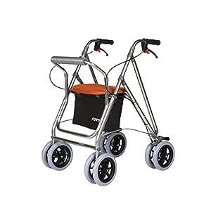 Andador para ancianos   Rollator de aluminio   Andador on frenos y ...