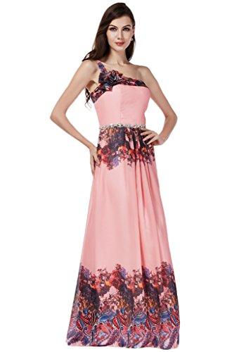 TOSKANA BRAUT -  Vestito  - linea ad a - Donna Multicolore 34