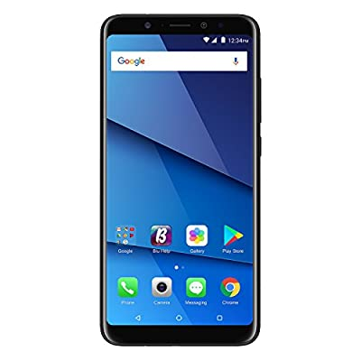 "BLU Vivo XL3 Plus - 6.0"" HD+18:9 Display Smartphone with Qualcomm Snapdragon – Black from BLU"