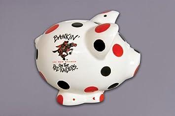 Magnolia Lane 67 North Carolina Tarheels Ceramic Collegiate Piggy Bank