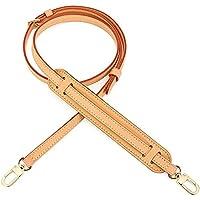 Vachetta Leather Adjustable Crossbody Strap for Pochette Small Bags Favorite Mini NM Eva PM MM Bag Strap 1.2cm (Vachetta…