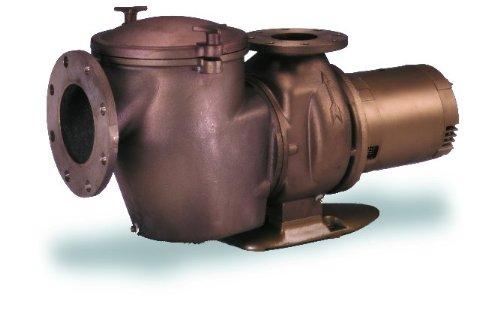 Pentair 011652 CMK-50 C Series Commercial Bronze Pump 5 Horsepower, Medium Head Three-Phase, 220/440 Volt, 60 Hertz by Pentair (Image #1)