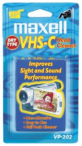 maxell-vhs-c-dry-head-cleaner-vp-202