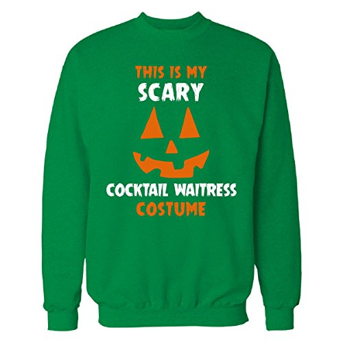 This Is My Scary Cocktail Waitress Costume Halloween Gift - Sweatshirt