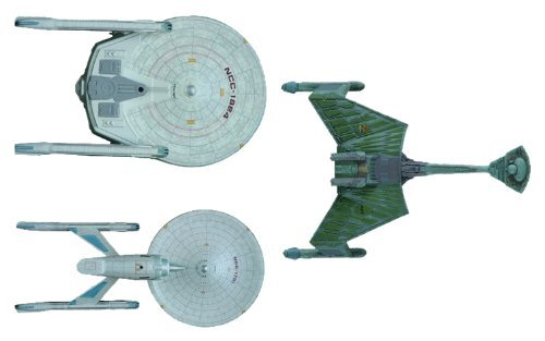 Round 2 Star Trek: The Motion Pictures: Cadet Series 1:2500 Scale Model Kit Set by Round 2