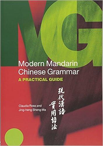 Amazon.com: Modern Mandarin Chinese Grammar: A Practical Guide ...