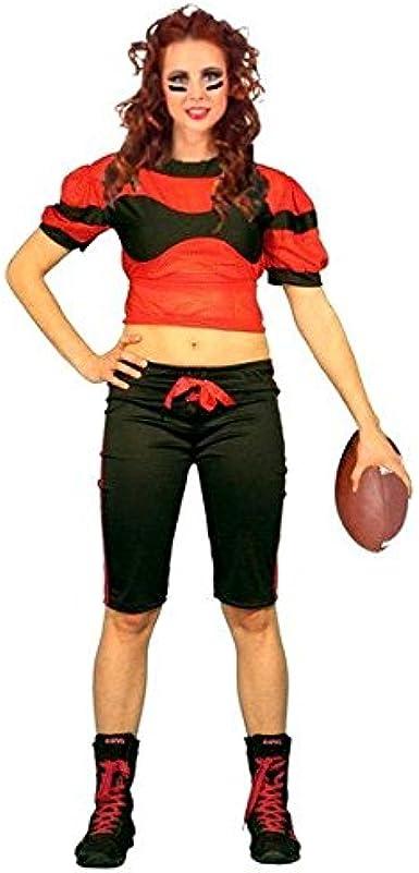 Atosa Disfraz de Jugadora de Rugby - Mujer, M: Amazon.es: Ropa y ...