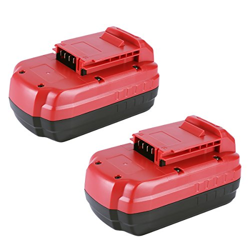 Biswaye 2 Pack PC18B Replacement Battery 18V 3.5Ah for Porter Cable 18-Volt NiCd Cordless Power Tools Battery PCC489N PCMVC PCXMVC