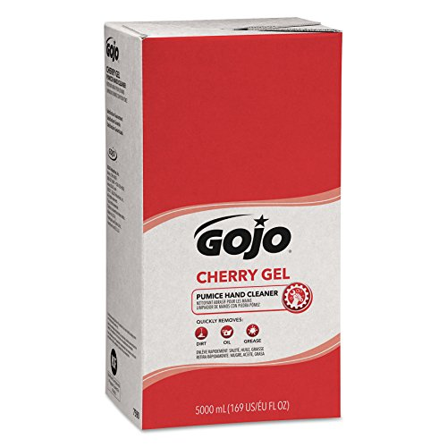 GOJO 7590-02 Pro 5000 mL Cherry Gel Pumice Hand Cleaner (2 per Case) ()