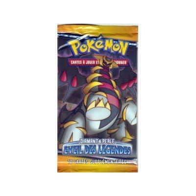 """Booster de 10 cartes Pokémon Diamant & Perle Eveil des legendes RARE NEUF SOUS BLISTER RIGIDE FR """"Image 2"""""""