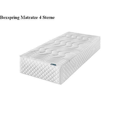 f a n frankenstolz boxspring 4 sterne 7 zonen tonnentaschenfederkern matratze 160x200 h3 g nstig. Black Bedroom Furniture Sets. Home Design Ideas