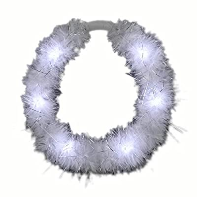 blinkee LED White Feather Angel Halo Crown Headband by: Toys & Games