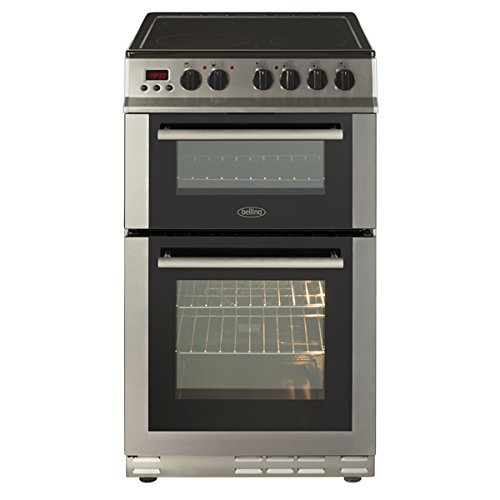 Belling FS50EDOPC Fan Double Oven Electric Cooker With Ceramic Hob...
