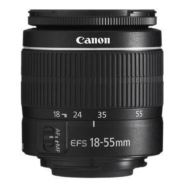 Canon EF-S 18-55mm f/3.5-5.6 III Camera Lens  International
