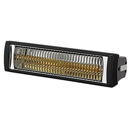 Calefactor Rio IP 1.5kW infrarrojo lámpara de cuarzo para interiores y exteriores,