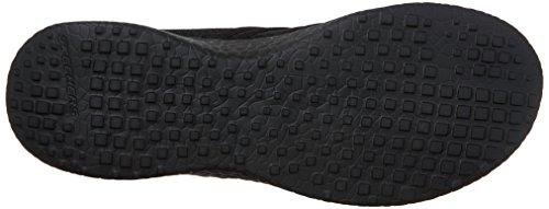 Negro Sport Skechers Slate Burst Zapatillas Mujer xPnTq6O
