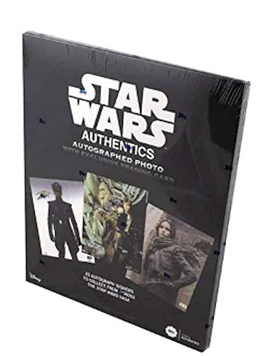 2019 Topps Star Wars Authentic Autographs box (ONE Autographed 8x10 Photo & ONE #'d card)