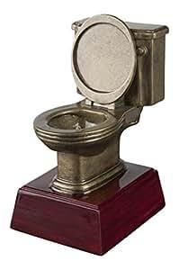 Gold Toilet Bowl Trophy / Last Place Award / Potty Training
