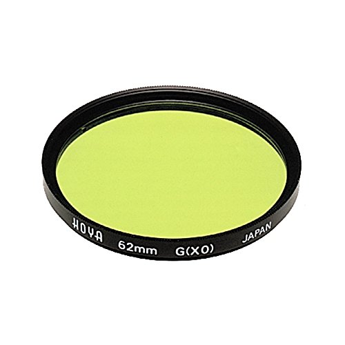 Hoya 62mm HMC Screw-in Filter - Yellow/Green by Hoya