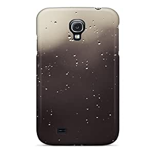 Durable Window Rain Blur Back Case/cover For Galaxy S4