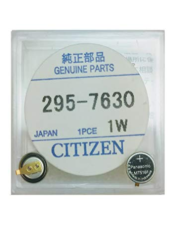 295-7630 Genuine Original Citizen Watch Energy Cell - Battery - Capacitor for Eco-Drive Watch (Same as 295-763)