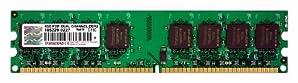 Transcend JetRam デスクトップPC用増設メモリ DDR2-800 2GB×2 永久保証 JM4GDDR2-8K