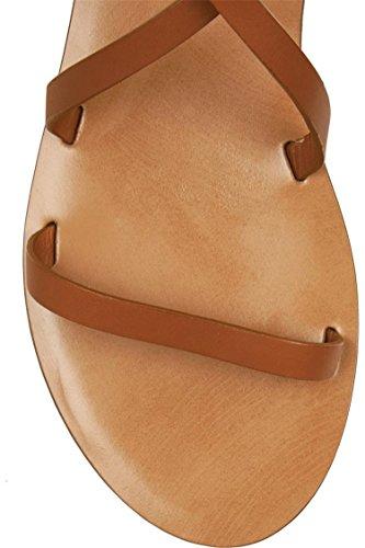 Guoar - Tira de tobillo Mujer Natural