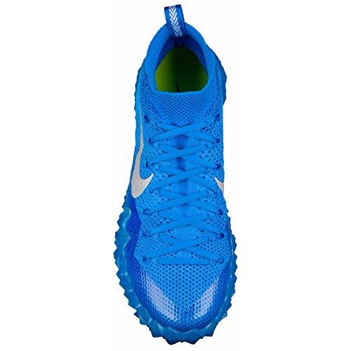 Nike Alpha Sensory Turf Football Cleats US Blue/Silver GVkw5