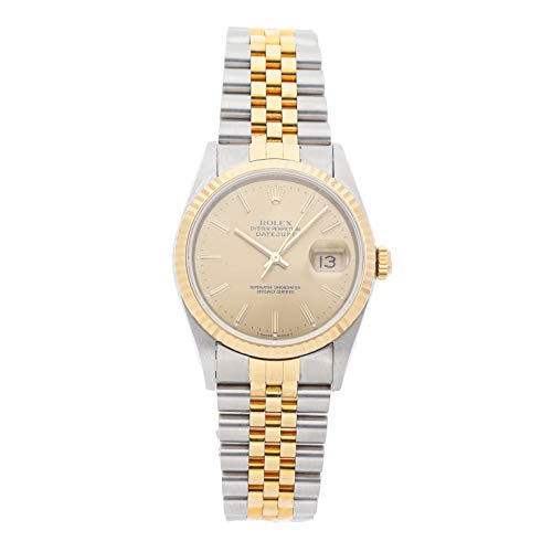 Rolex Datejust Mechanical (Automatic) Champagne Dial Mens Watch 16233 (Certified Pre-Owned)