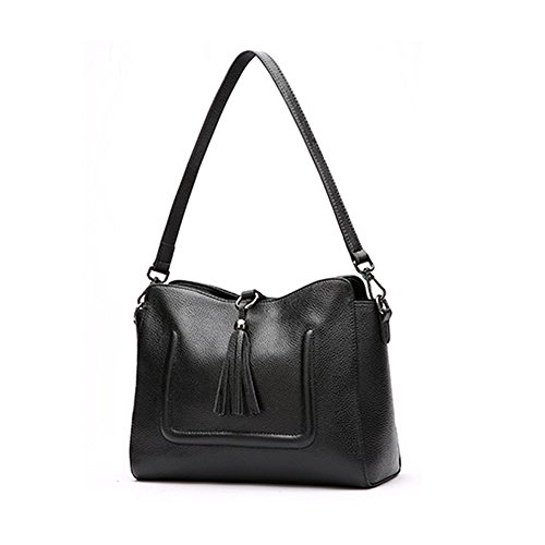 Womens Valin Tote Leather Medium Bag Black Smooth xTU8dTIn