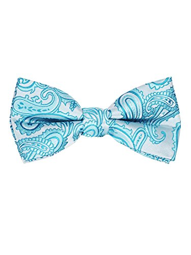 Paisley Bow Tie Paisley 20-R-Turquoise (Paisley Turquoise)