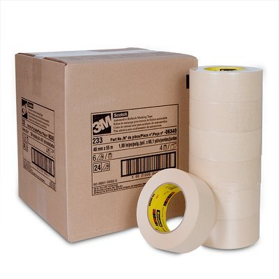 Scotch 06341 233 72 mm x 55 m Automotive Refinish Masking Tape