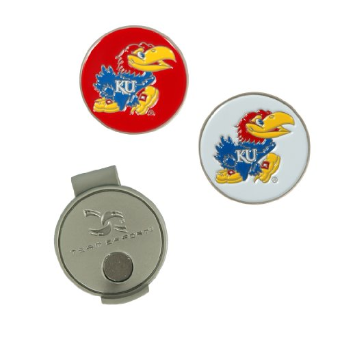 Team Effort Kansas Jayhawks Hat Clip & 2 Ball Markers