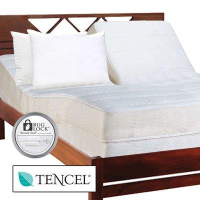 Luxury Adjustable Tencer Fiber Bed Kit Size: King