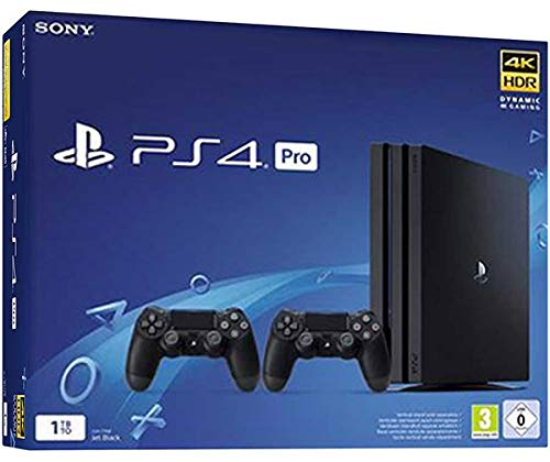 PS4 Pro 1TB Gamma + 2 DS4 V2 [Importación italiana]: Sony ...