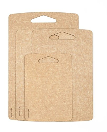 Prep Series Cutting Boards by Epicurean, 4 Piece, Natural